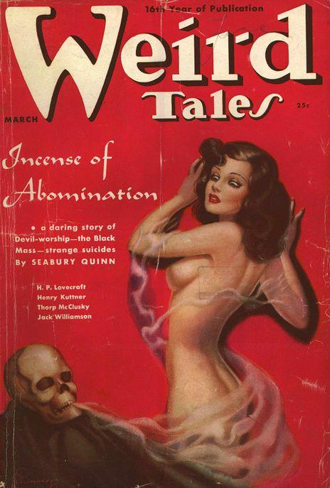 Weird Tales- 1938